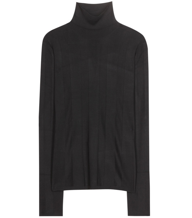 BALENCIAGA Silk turtleneck sweater 465 EUR