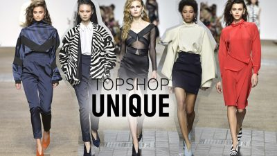 Pokaz TOPSHOP UNIQUE SS16 na London Fashion Week
