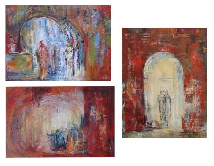 1. Murmullo, 2. Ancestors 3. Porta di Pisa